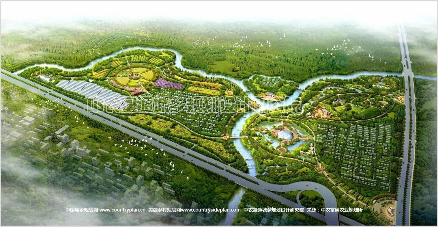 新农村建设规划效果图原始尺寸1024 583高清图片