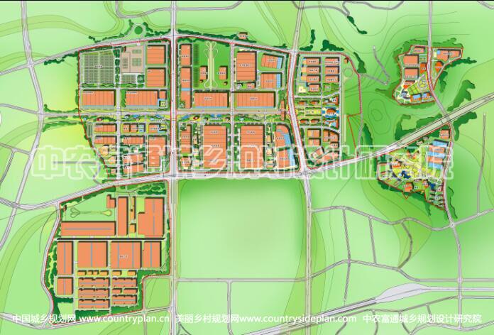 重庆汽车城工业园区规划设计