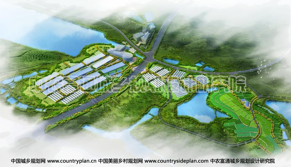 本项目结合城镇职能,统筹分析区域发展基础,对农业村镇